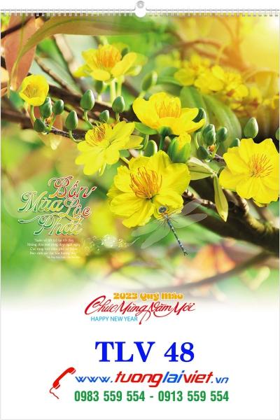 Lịch Lò Xo 7 Tờ Biển Đảo Quê Hương